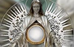 Kalwaria Zebrzydowska: Boże Ciało z monstrancją fatimską