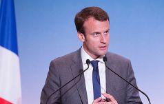 Macron po zwycięstwie: