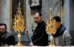 Relikwie świadków Bożego Miłosierdzia