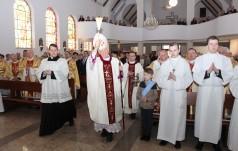 Poświęcenie kościoła św. Wojciecha w Wałbrzychu