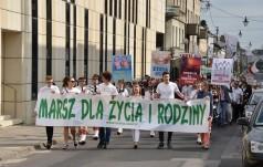Częstochowa: ulicami miasta przeszedł Marsz dla Życia i Rodziny