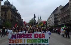 Kraków: ulicami miasta przeszedł Marsz dla Życia i Rodziny