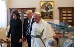 USA: echa spotkania papieża z Trumpem
