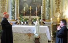 Kard. Müller dokonał koronacji figurki Matki Bożej Fatimskiej