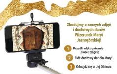 """Paulini z Jasnej Góry zapraszają do inicjatywy """"Selfie dla Maryi""""!"""