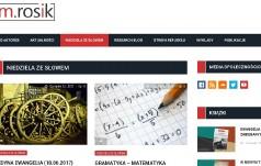Premiera portalu biblijnego ks. Rosika