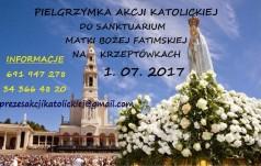 Pielgrzymka do Sanktuarium Matki Bożej Fatimskiej na Krzeptówkach