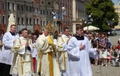 Boże Ciało w mieście wydarzenia eucharystycznego