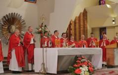 Prymicje bp. Andrzeja Przybylskiego w seminarium