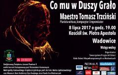 Koncert Tomasza Trzcińskiego w Wadowicach