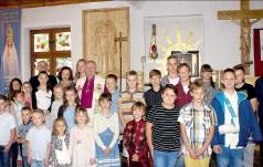 Wizytacja w Pieczyskach