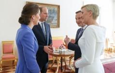Pożegnanie Pary Książęcej w Belwederze