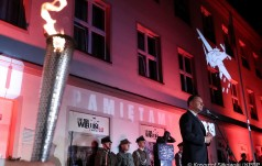 Prezydent A. Duda w Wieluniu: pamięć ma znaczenie najistotniejsze