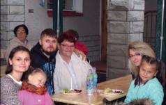 Zjazd Rodzin w DPS w Poraju