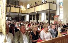 Jubileusz 800-lecia parafii w Ujeździe Górnym