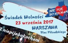 """Warszawa: """"Nie piję, bo kocham"""" - na placu Piłsudskiego trwa piknik edukacyjny"""