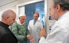 Watykan: papieska wizyta w ośrodku rehabilitacji neurologicznej