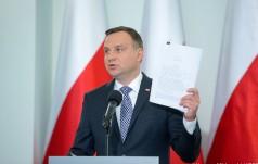 Prezydent przedstawia projekty ws. KRS i SN
