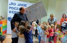 Poświęcenie przedszkola przy parafii