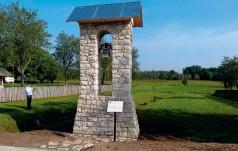 Poświęcenie dzwonnicy w Podlesiu