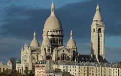 Paryż: bazylika  Sacré-Coeur