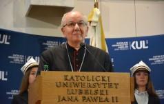 Abp Budzik: KUL to ważne miejsce na duchowej mapie Polski