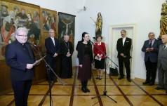 Patronka Węgier pod Wawelem