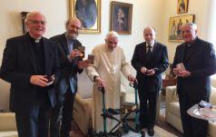 Watykan: Benedykt XVI przyjął laureatów Nagrody Ratzingera