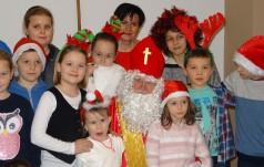 Mikołaj w Hospicjum DAR SERCA