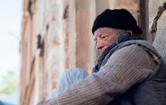 Współpraca – zima – bezdomni