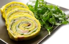 Rolada z żółtego sera