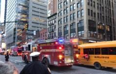 Wybuch bomby na dworcu autobusowym w Nowym Jorku!
