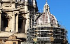 Kopuły św. Piotra w renowacji