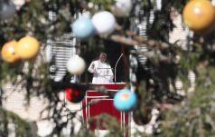 Papież podziękował za życzenia świąteczne