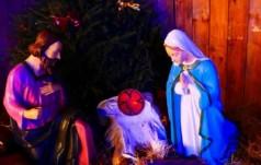 Skradziono figurę Jezusa z bożonarodzeniowej szopki w Poznaniu