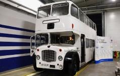 Londyński piętrowy autobus własnością Częstochowy