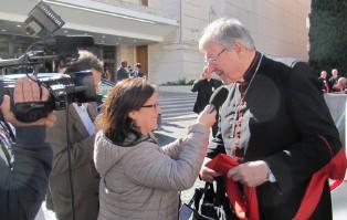 Media: papież wezwał kard. Pella do Rzymu