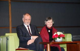 Spotkanie z rodzicami prezydenta RP Andrzeja Dudy - Janiną Milewską-Dudą