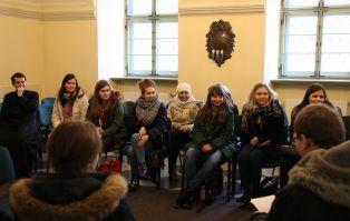 Studenci teologii trwali w wielkopostnym skupieniu