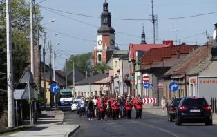 Uroczystości katyńskie w Krzepicach