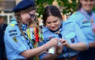 Zakończenie roku we wrocławskim Hufcu żeńskim...