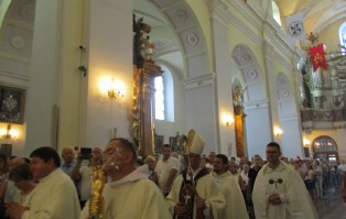 Imieniny św. Jacka w Gidlach