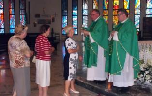 Wprowadzenie relikwii św. Marii De Mattias