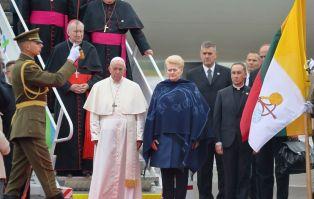 Litwa: pierwszy dzień pielgrzymki Franciszka