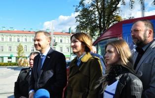 Senator Warzocha rozpoczął kampanię