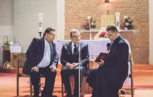 Arturo Mari w parafii pw. św. Jana Pawła II