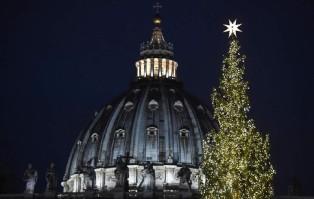 Szopka z piasku w Watykanie