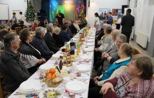 Wigilia dla starszych i samotnych w Czerwieńsku