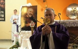 Relikwie św. o. Pio w Stargardzie