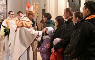 Uroczystość Zwiastowania Pańskiego w katedrze